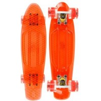 Annox LED Cruiser Skateboard - Orange