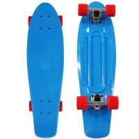 """NKD Classic Deluxe Skateboard 27"""" - Blue"""