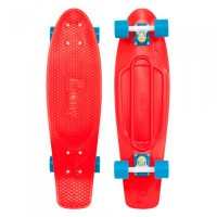 Penny Nickel Red Blue Skateboard 27""