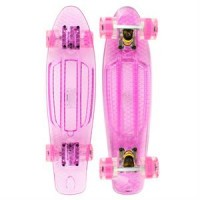 Annox LED Cruiser Skateboard - Rose