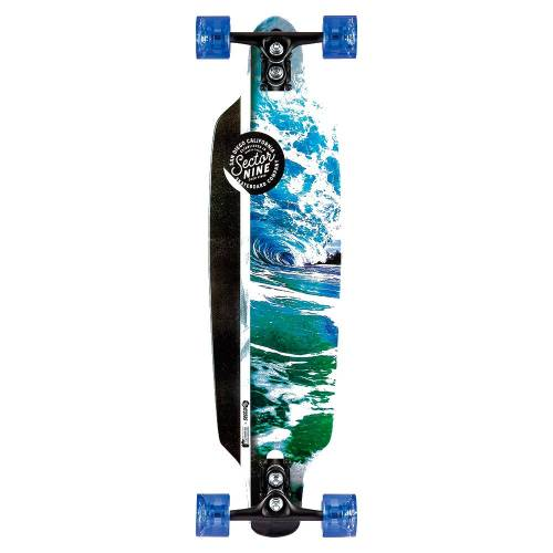 Sector 9 Flux Mini Fractal Longboard