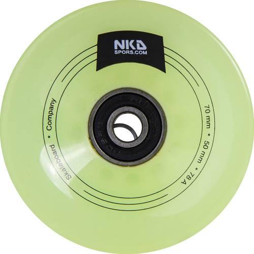 NKD Longboard Roue 70 mm/80 A